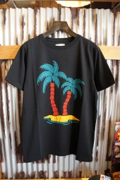 BANKS JOURNAL BAHAMAS TEE SHIRT (DIRTY BLACK)
