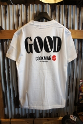 Cookman T-shirts 「GOOD」 (WHITE)