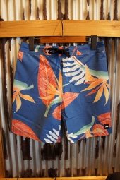 BANKS JOURNAL BLOOM BOARDSHORT (COBALT)