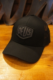DEUS EX MACHINA Woven Shield Trucker (BLACK)