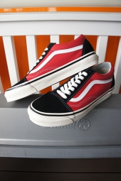 VANS OLD SKOOL 36 DX (ANAHEIM FACTORY)BK/RD