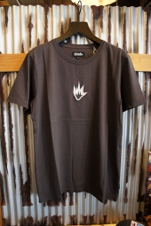 AFENDS Flame - STANDARD FIT TEE (VINTAGE BLACK)