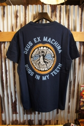 DEUS EX MACHINA Tooth Tee (NAVY)