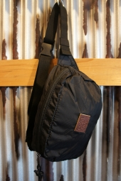 BRIXTON STEWART HIP PACK (BLACK)