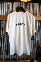 BRIXTON STOWELL IV S/S STANDARD TEE (WHITE)