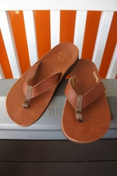 The Sandalman BEACH WALK LEATHER SANDAL (R.BROWN)
