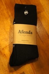 AFENDS Flame 2 Pack Socks (BLACK)