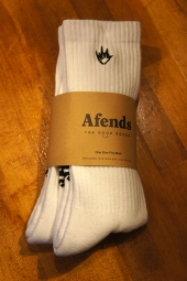 AFENDS Flame 2 Pack Socks (WHITE)