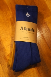 AFENDS Flame 2 Pack Socks (ROYAL BLUE/MUSTARD)