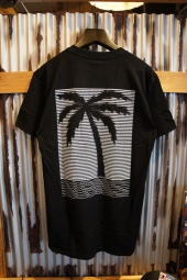 VANS CODED PALM SS T-SHIRT (BLACK)