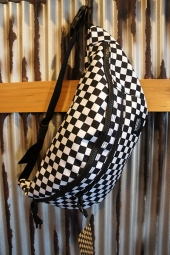 VANS RANGER WAIST PACK (BLACK-WHITE CHECK)