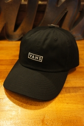 VANS CURVED BILL JOCKEY CAP (BLACK)