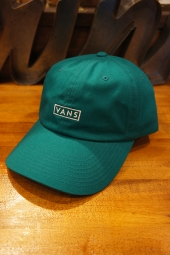 VANS CURVED BILL JOCKEY CAP (QUETZAL)