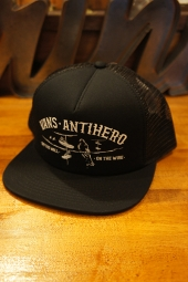 VANS X ANTI HERO WIRED TRUCKER CAP (BLACK)