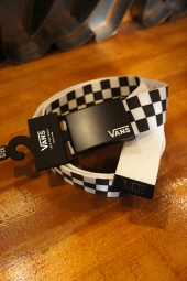 VANS DEPPSTER 2 WEB BELT (BLACK/WHITE)