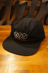 VANS TRIPLE CIRCLE JOCKEY CAP (BLACK)