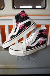 VANS SK8-HI 38 DX (ANAHEIM FACTORY)OG WHITE/BLACK/SUMMER LEAF