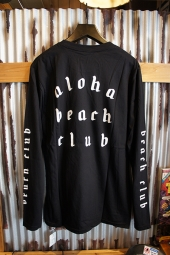 Aloha Beach Club League L/S Tee (Black)