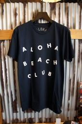 Aloha Beach Club Circus Tee (Navy)