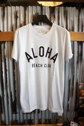 Aloha Beach Club Crew Tee (White)