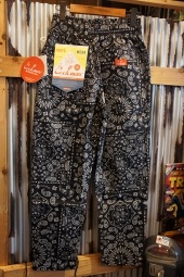 Cookman Chef Pants (「Paisley」 Black)