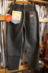 Cookman Chef Pants (「Wool mix Stripe」 Gray)
