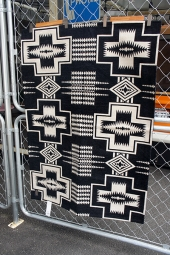 PENDLETON Kitchen Mat Large (Black)