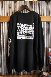 BALENO TOWN CLOTHING STORE ORIGINAL STORE LOGO L/S TEE ロスアパVer.