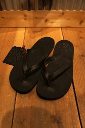 The Sandalman BEACH BLACK