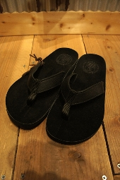 The Sandalman BEACH WALK BLACK × S.BLACK