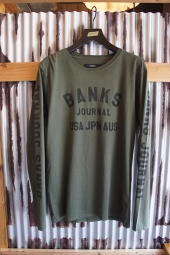 BANKS SEASON L/S TEE SHIRT (COMBAT)