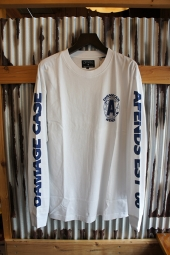AFENDS Case Long Sleeve Tee (White)