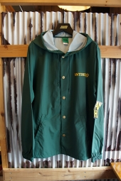 ANTIHERO BACK EAGLE HOODED COACH JACKET (FOREST GREEN)