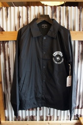 AFENDS Skip Coaches Jacket (Black)