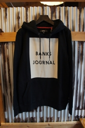 BANKS DISPLAY FLEECE (DIRTY BLACK)