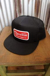 BRIXTON GRADE MESHCAP (BLACK/RED)