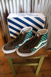 [50周年モデル] VANS SK8-HI REISSUE (50TH) CHECKERB