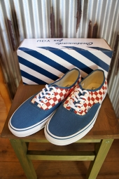 [50周年モデル] VANS AUTHENTIC (50TH) CHECKERB