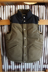 Champion CAMPUS REVERSIBLE VEST (ARMY GREEN)