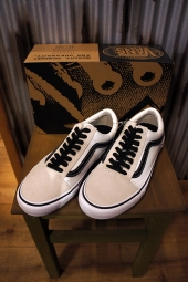 [50周年モデル] VANS OLD SKOOL PRO (50TH) '92 WHT/BK