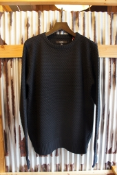 BANKS STROLL KNIT (DIRTY BLACK)