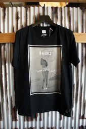 BANKS COVER TEE SHIRT (DIRTY BLACK)
