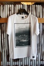 BANKS LOVE ME TENDER TEE SHIRT (OFF WHITE)
