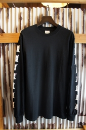 RIPNDIP CATURDAYS LONG SLEEVE TEE (BLACK)