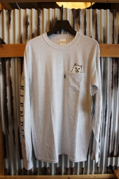 RIPNDIP LORD NERMAL LONG SLEEVE POCKET TEE (ATHLETIC)