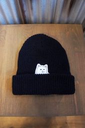 RIPNDIP LORD NERMAL RIBBED BEANIE (NAVY)