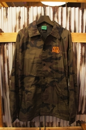 ANTIHERO LIL BLACKHERO WINDBREAKER COACHES JACKET (CAMO)