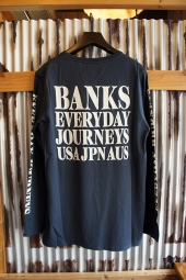 BANKS BRIDGE L/S TEE SHIRT (DIRTY DENIM)