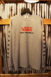 VANS SK8 Sleeve PT. L/S T-Shirts (HEATHER GRAY)