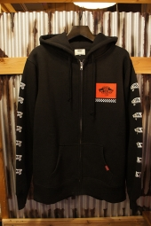 VANS SK8BOX Zip-Up Hooded Sweat (BLACK)